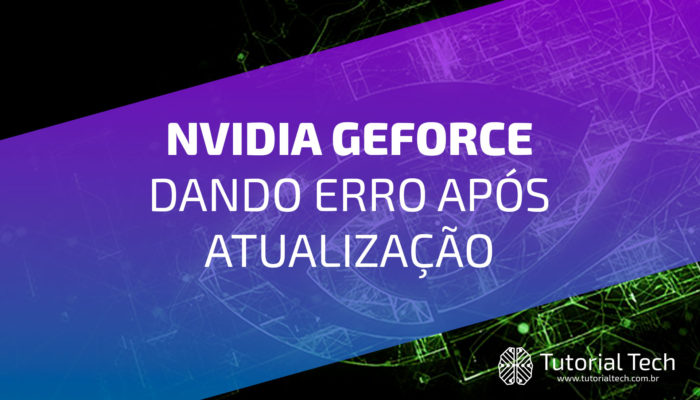 Something went wrong. Try restarting GeForce Experience. [RESOLVIDO]
